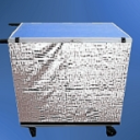 Silver Mesh Show Trolley Surrounds