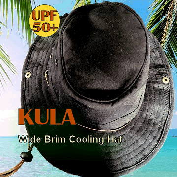 Cooling Wide Brim Hat rated 50+